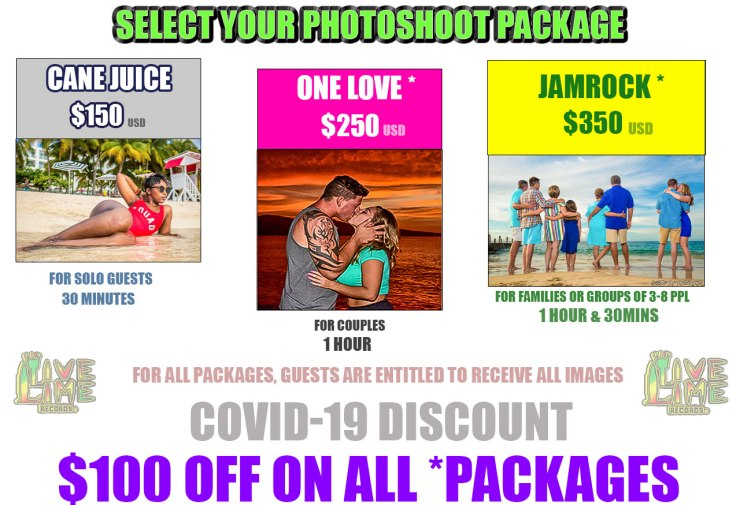 Jamaica Photography prices